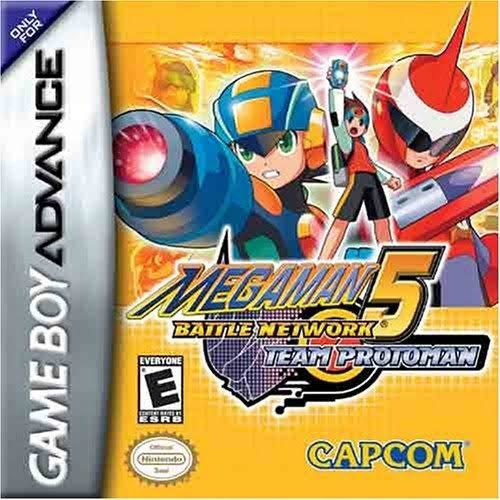 Mega Man Battle Network 5 Team Protoman [Game Boy Advance Game]