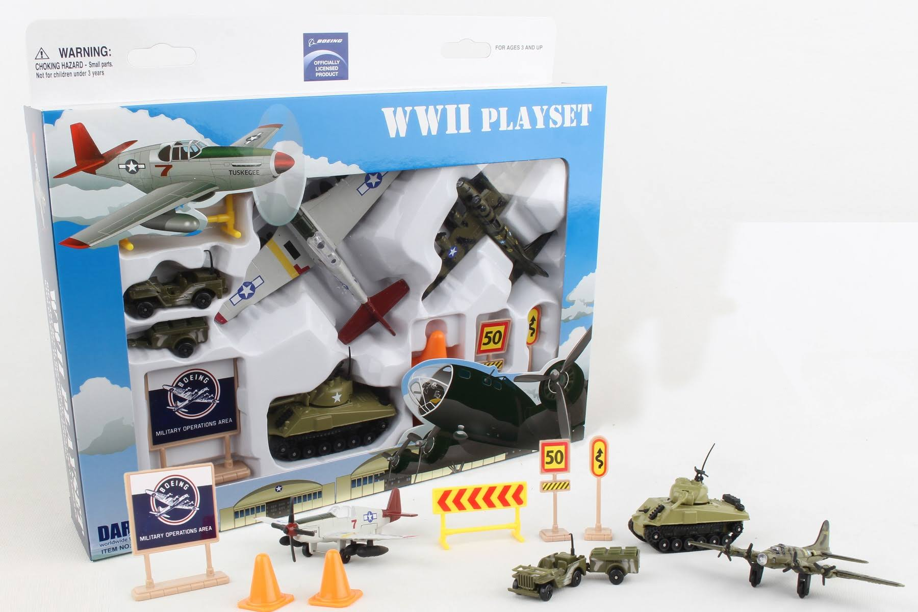 Daron RT1941 Boeing WWII Playset