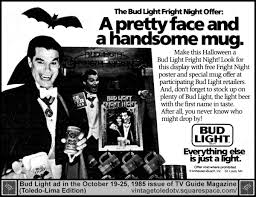 Snickers Halloween Commercial Headless Horseman by Vintage Toledo Tv Halloween Ads Bud Light Fright Night Fri 10
