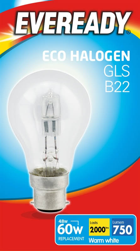 Everyday Eco Halogen GLS Bulb - 48W, Warm White