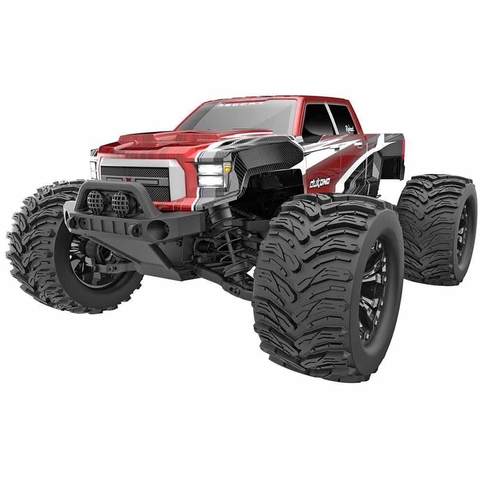 Redcat Racing Dukono 1/10 Scale Electric Monster Truck (Red)