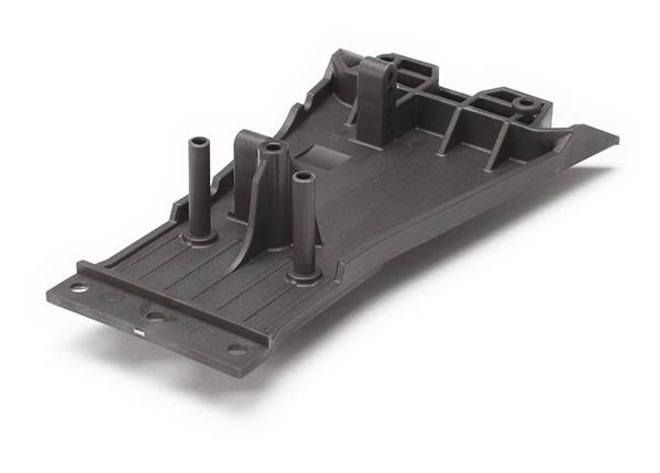 Traxxas Lower Chassis - Gray