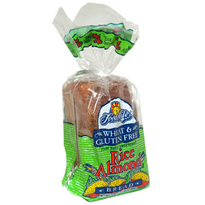 Food For Life Baking Rice Almond Bread - 24oz