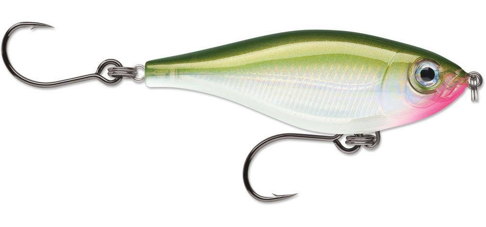 Rapala X-Rap Twitchin Mullet Lure - Olive Green, 3-1/8""