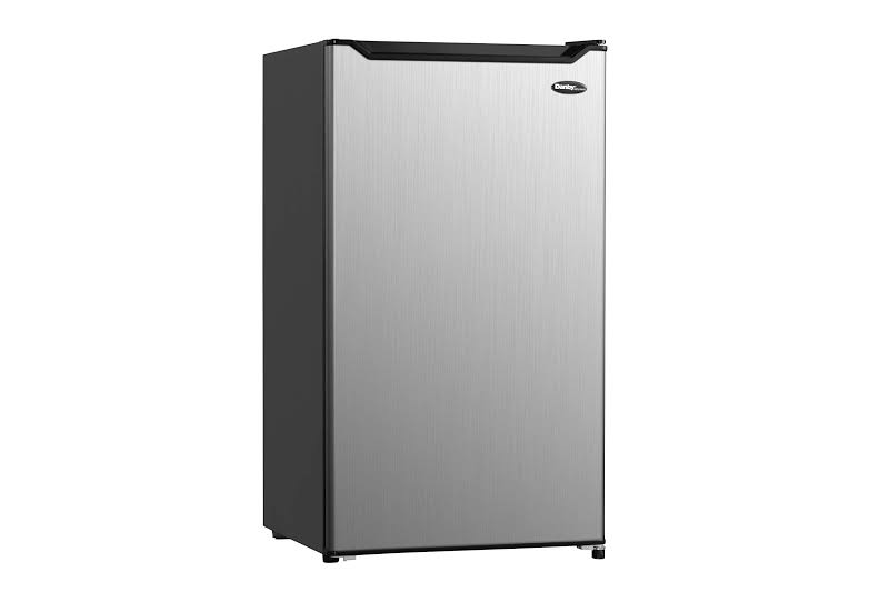 Danby Diplomat DCR044B1SLM-6 4.4 Cubic Feet Compact Refrigerator, Steel Finish by VM Express