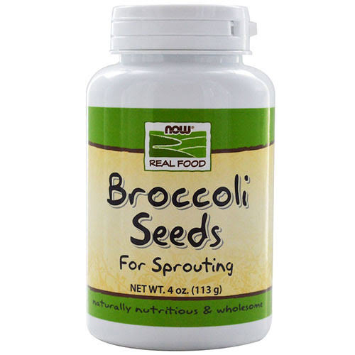 Now Foods Broccoli Seeds Sprout