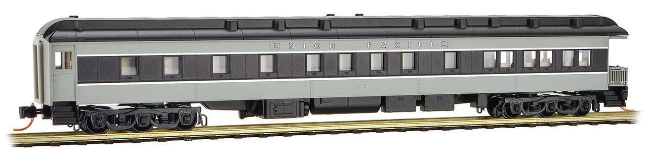 Micro-Trains MTL N-Scale Heavy Observation Passenger Car Union Pacific/UP #101 14400190