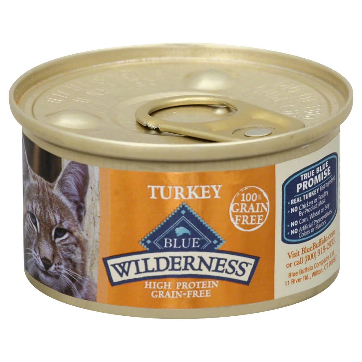 Blue Wilderness Food for Cats - Turkey