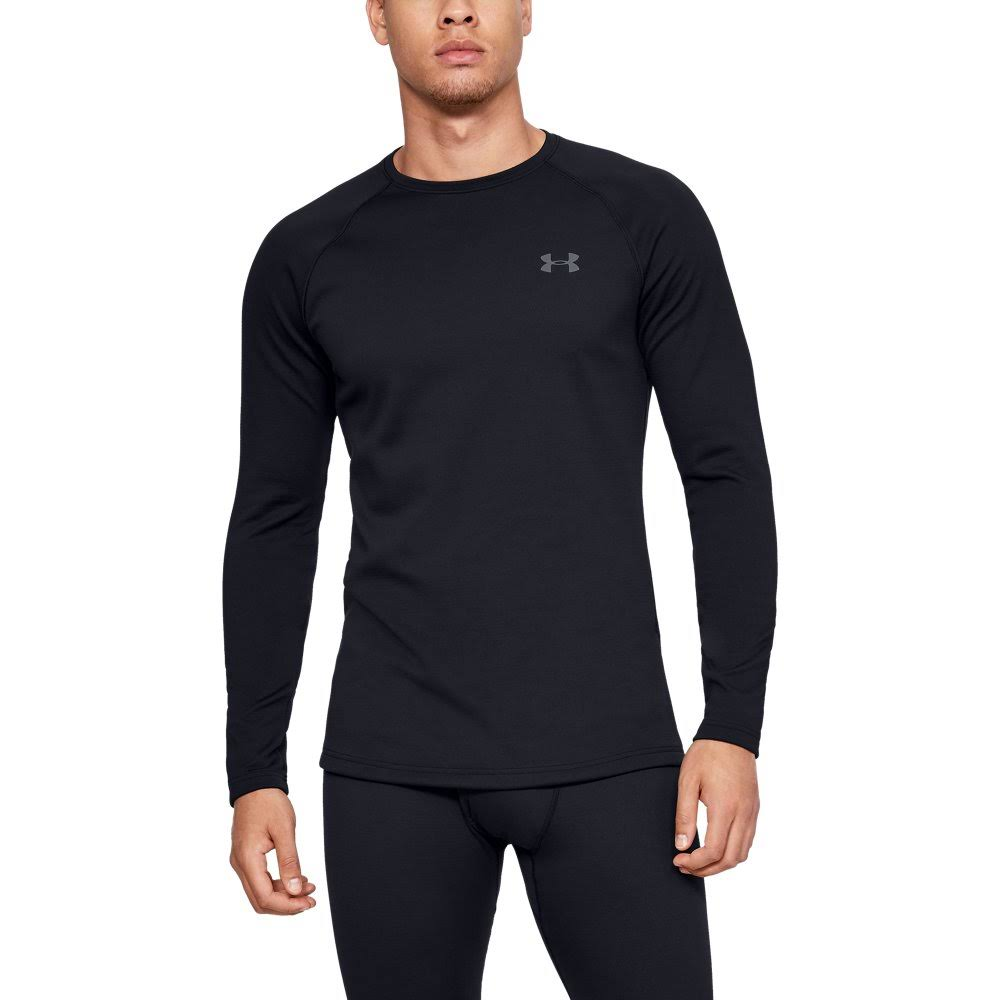 Under Armour Packaged Base 3.0 Crew, Men's Black