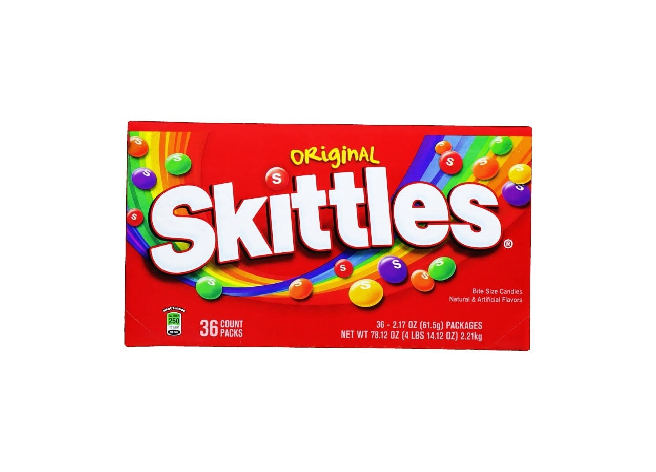 Skittles Bite Size Candy - 2.17oz, 36ct