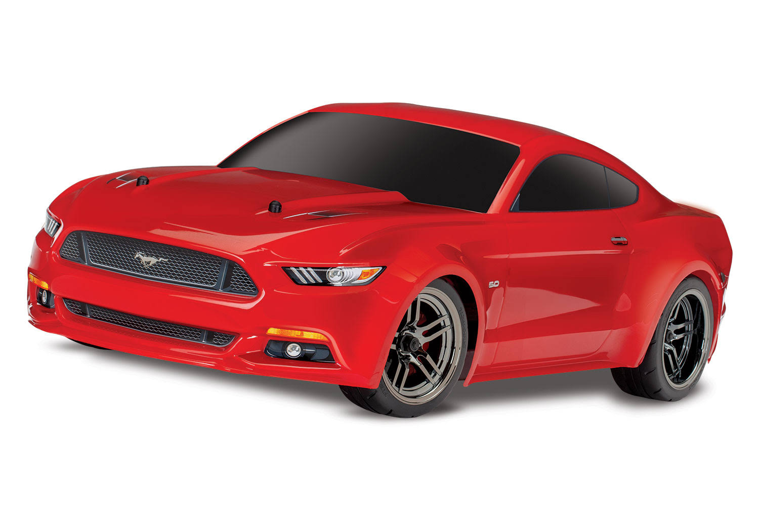Traxxas 4-TEC 2.0 Ford Mustang GT RTR AWD Supercar Red