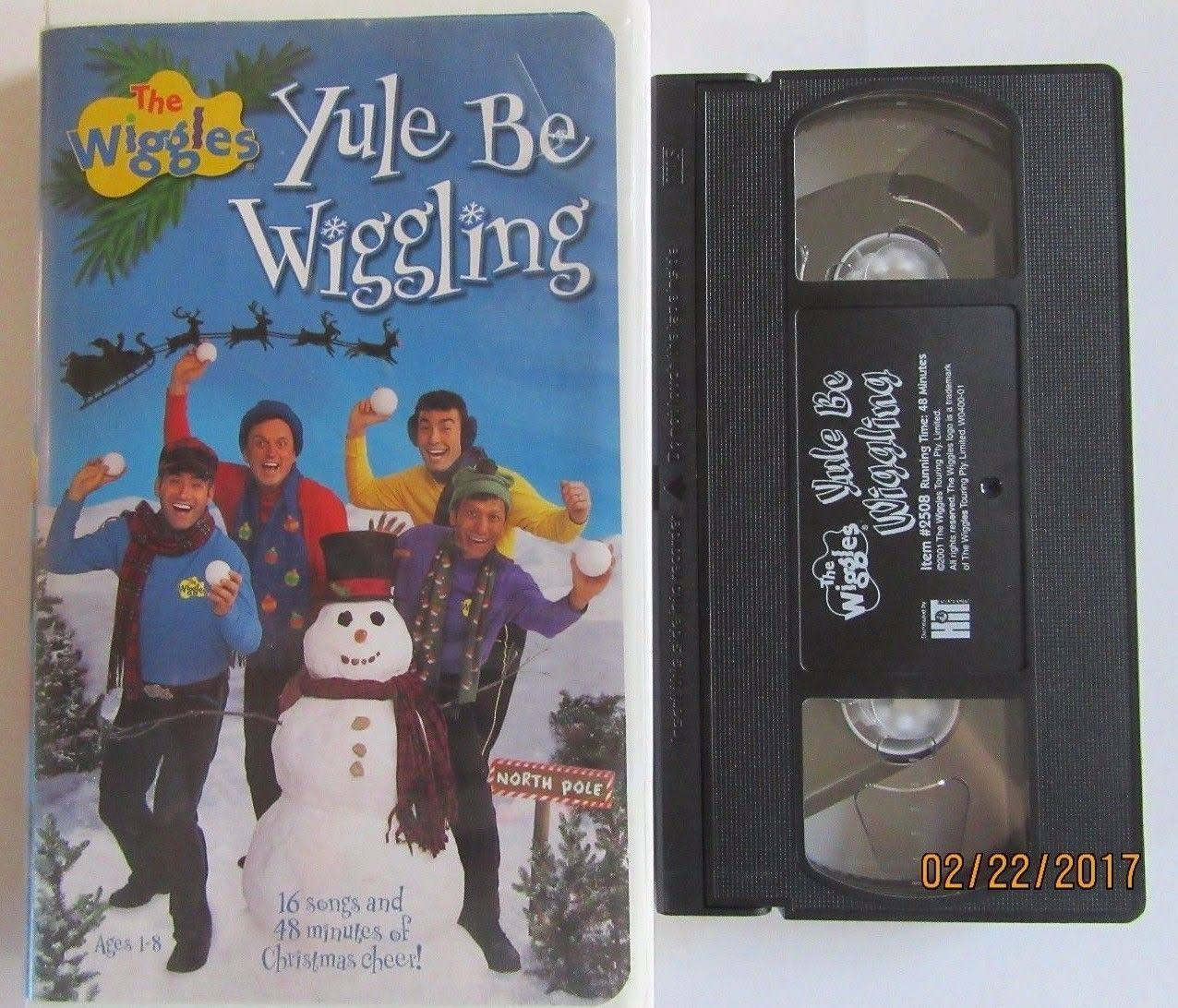 The Wiggles Yule Be Wiggling - VHS