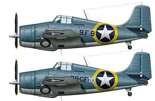 Hasegawa 02240 F4F-4 Wildcat Operation Torch Diecast - 1/72 Scale