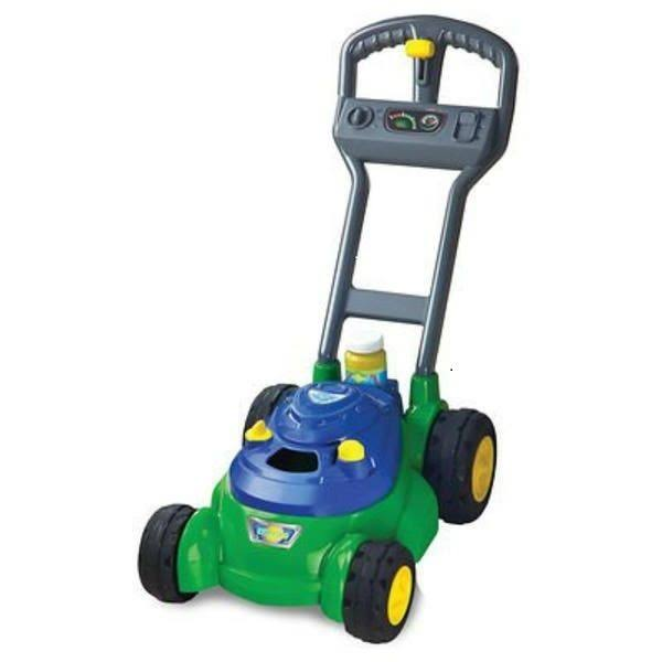Sunny Days SunZone Bubble N Go Mower - Blue/Green/Gray