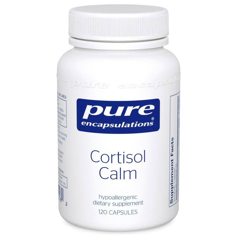 Pure Encapsulations Cortisol Calm Dietary Supplement - 120 Capsules