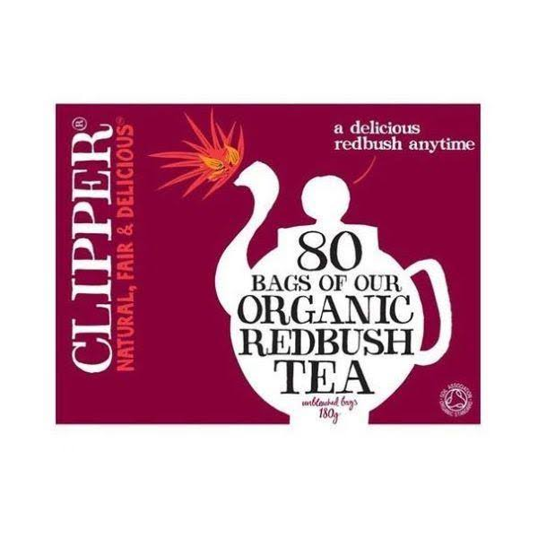 Clipper Organic Redbush Tea - 80 Tea Bags