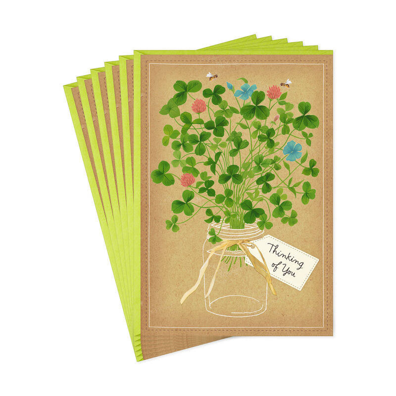 Thinking of You St. Patrick's Day Cards, Pack of 6