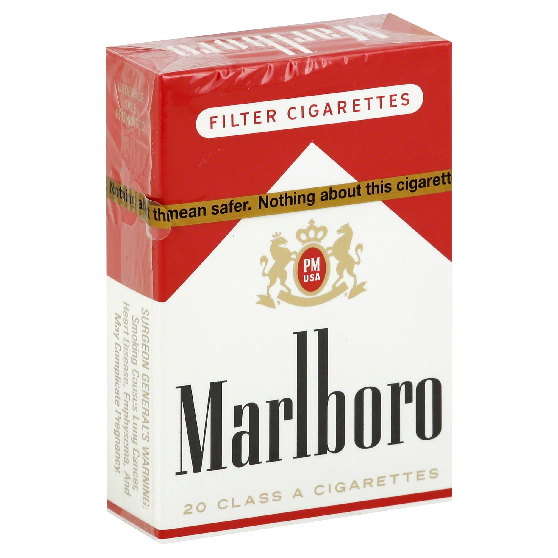 Marlboro Cigarettes, Filter - 20 cigarettes