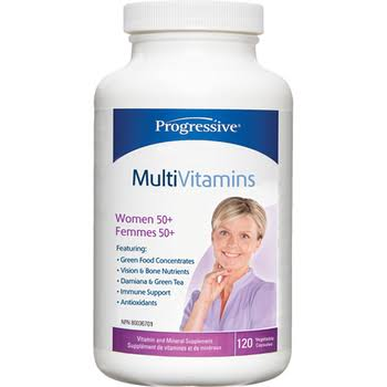 Progressive Multivitamin Women 50+ - 120 Capsules