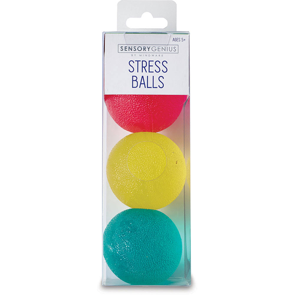 MindWare Stress Balls 3PC