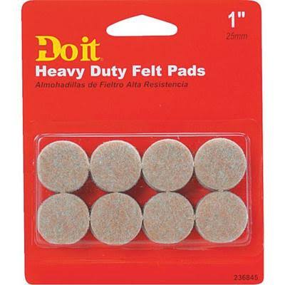 Shepherd Hardware Heavy Duty Felt Pads - 16pc, 1""