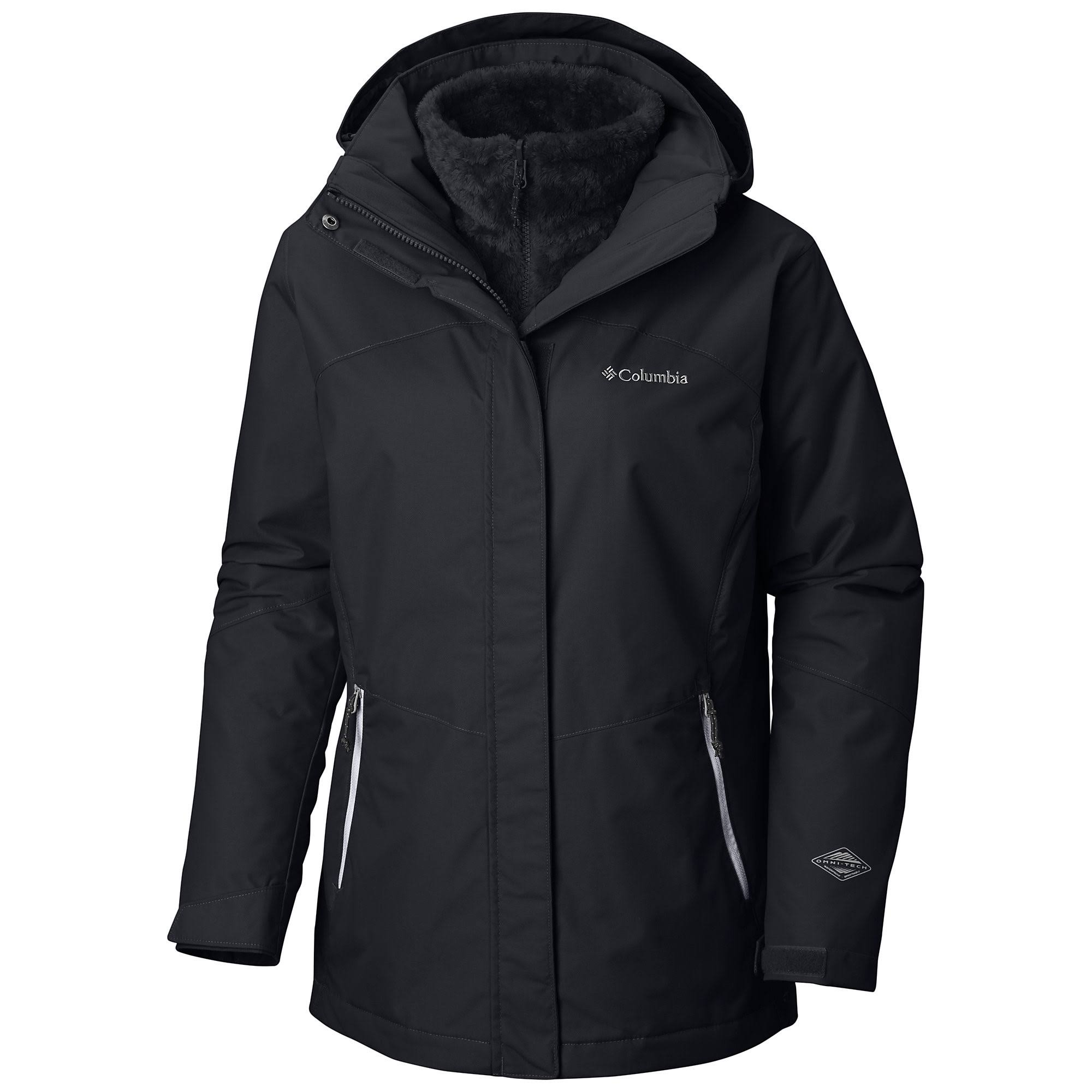 Columbia Bugaboo II Fleece Interchange Jacket - Women's XS Black