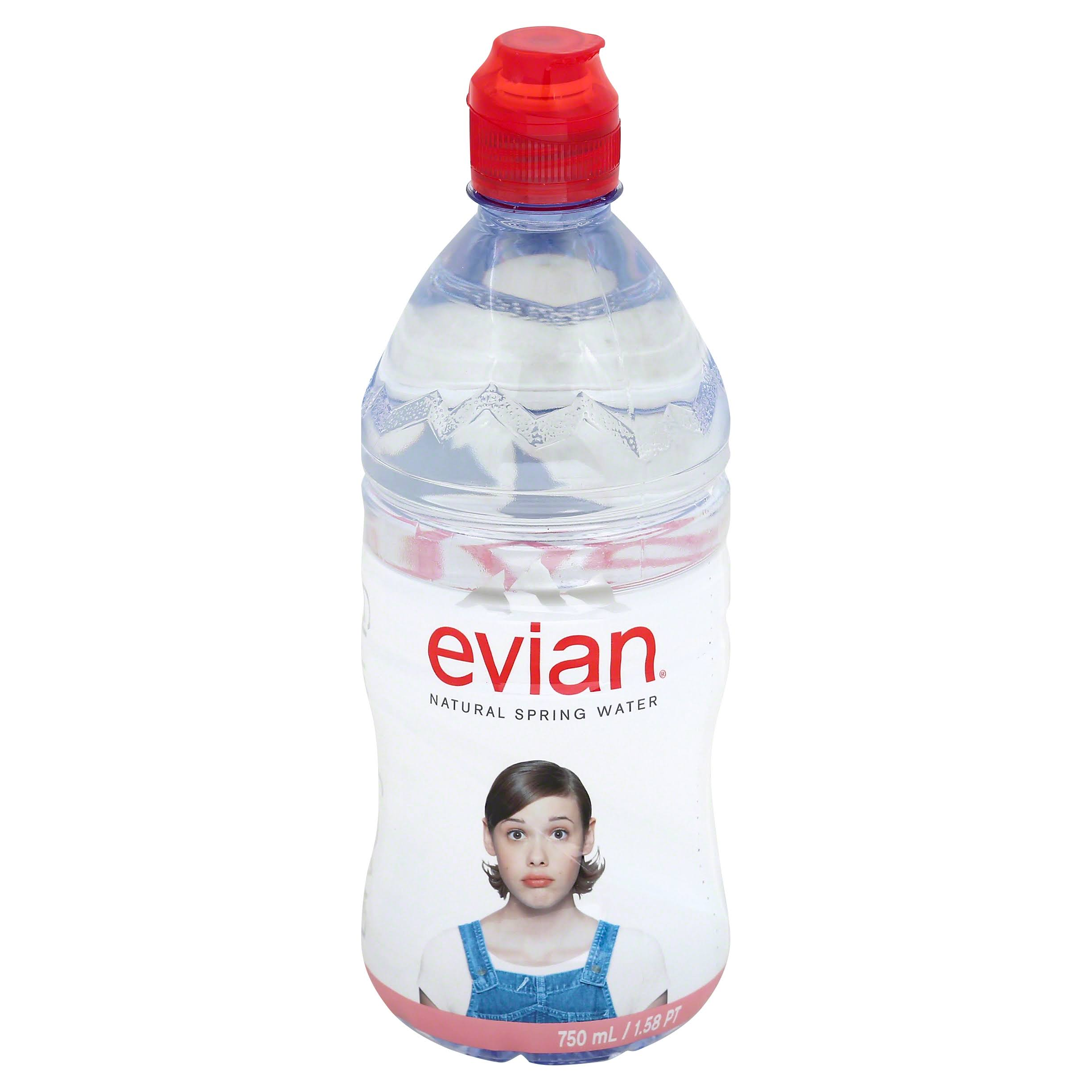 Evian Natural Spring Water - 750ml
