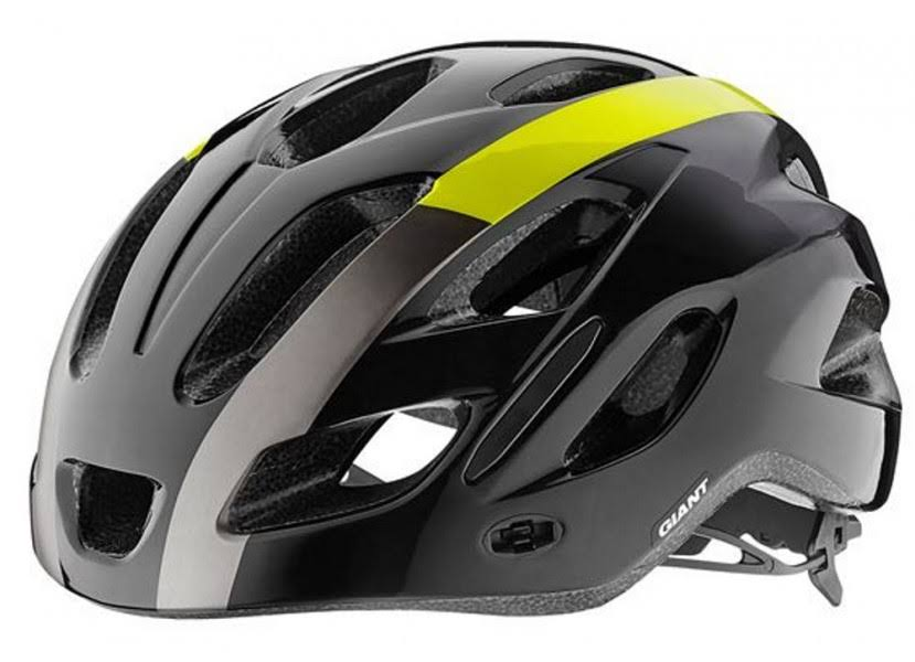 Giant Compel Helmet - Black/Yellow - Medium/Large