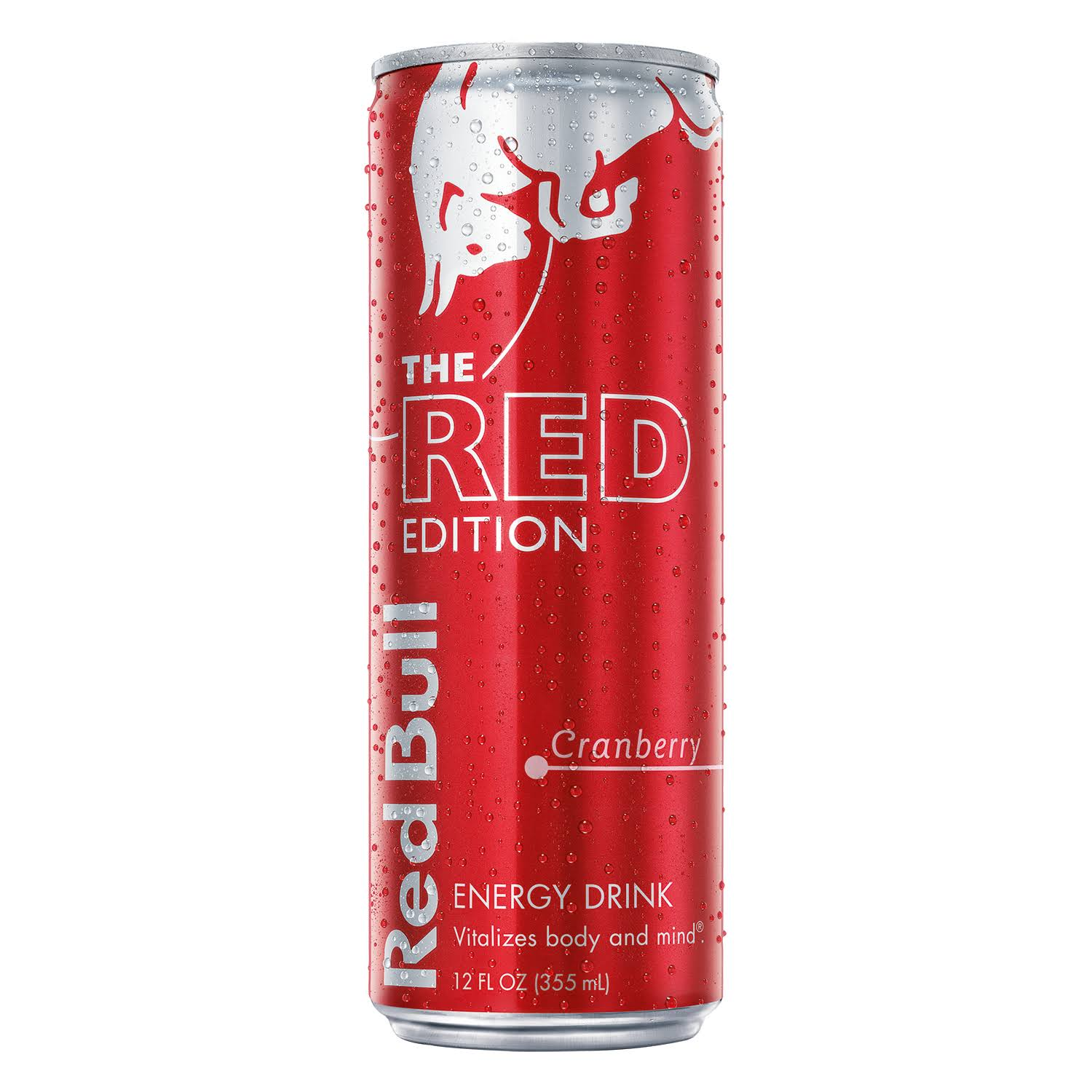 Red Bull The Red Edition Energy Drink - Cranberry