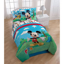 Mickey Mouse Flip Open Sofa Uk by Mickey Mouse Clubhouse 8 Piece Bed In A Bag With Sheet Set By