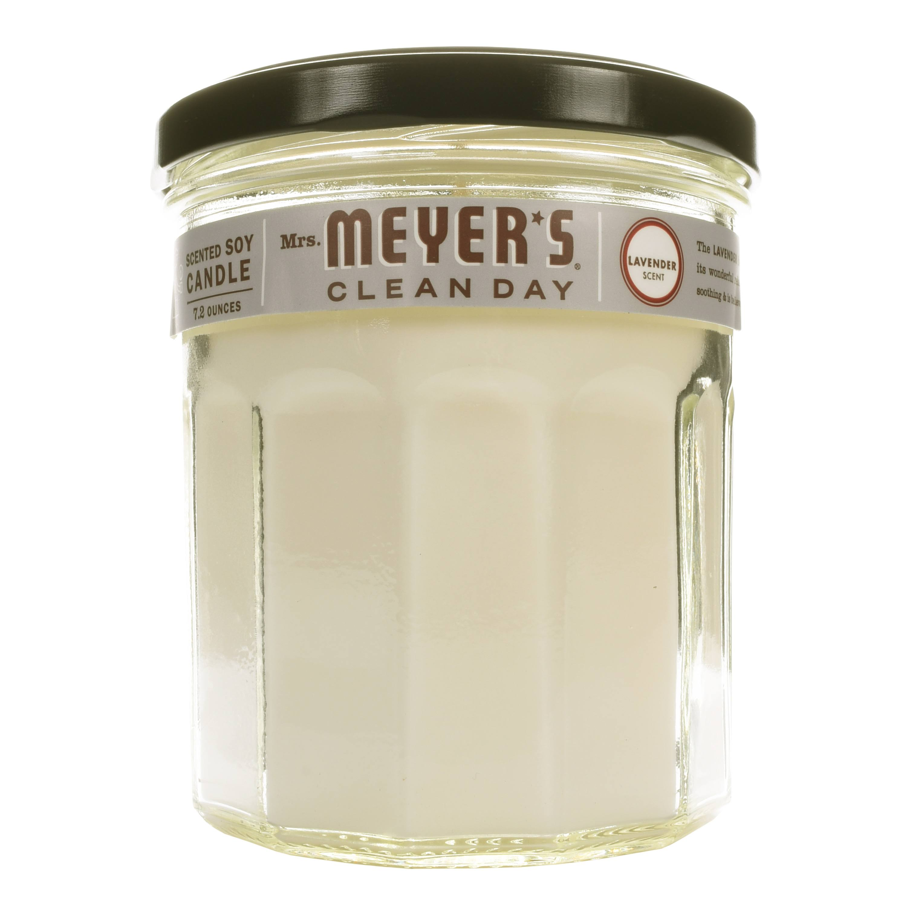 Mrs. Meyers Clean Day Scented Soy Candle - Lavender