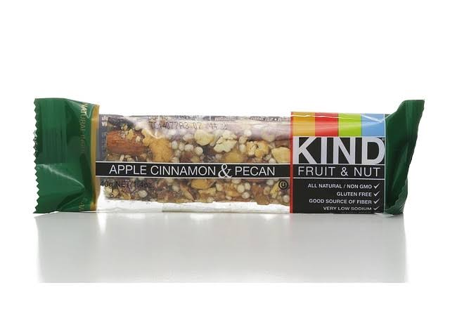 Kind Fruit & Nut Bar - Apple, Cinnamon & Pecan, 12 Pack
