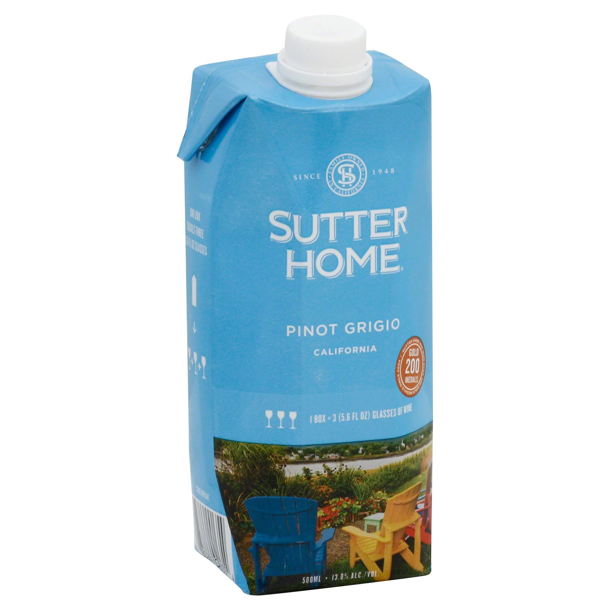 Sutter Home California Pinot Grigio Wine
