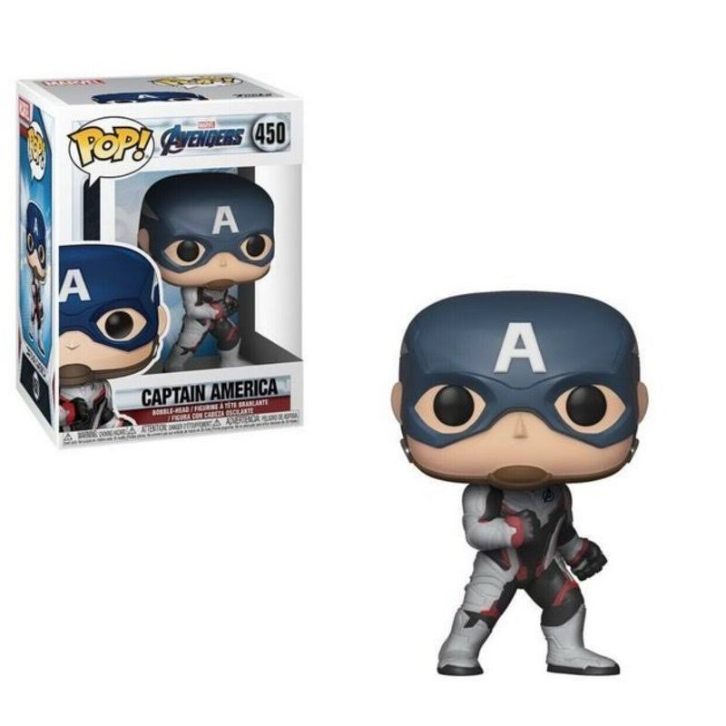 Funko Pop! Marvel - Avengers Endgame: Captain America