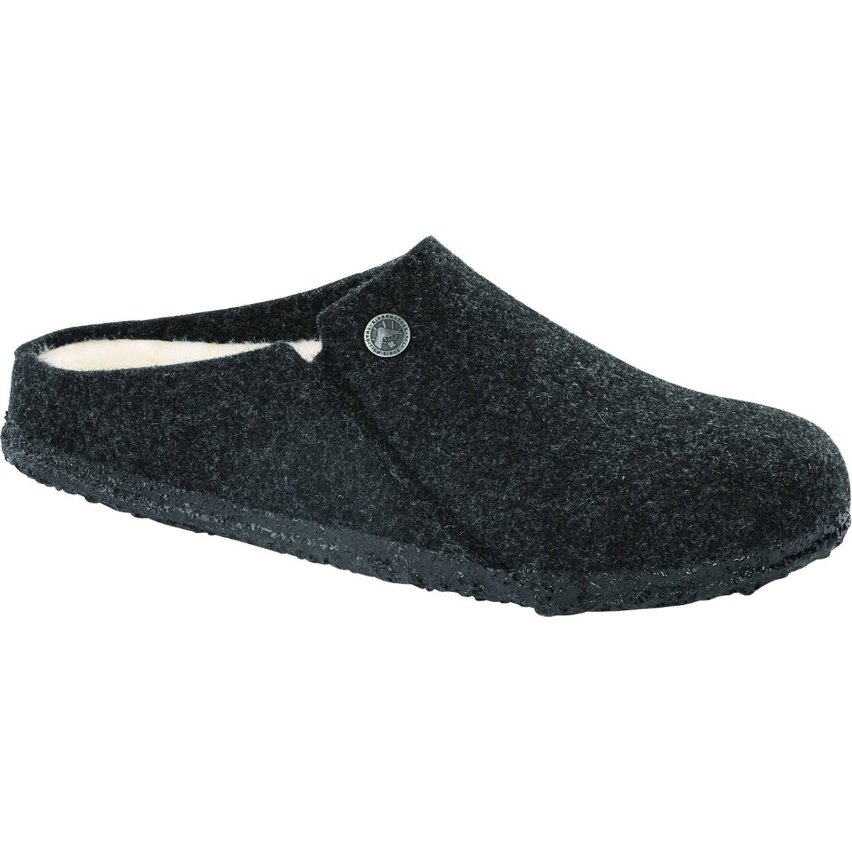 Birkenstock Zermatt Shearling (43 Anthracite/Natural)