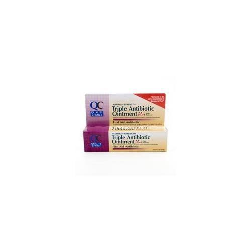 Quality Choice Triple Antibiotic Ointment Plus - 1oz Each