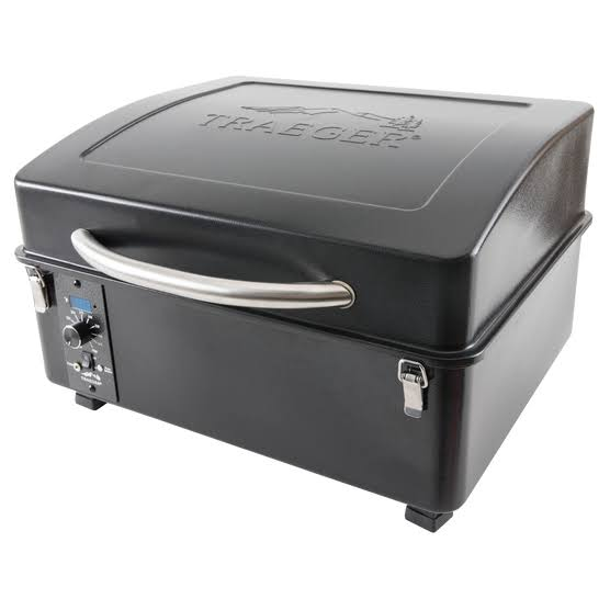 Traeger Scout Wood Pellet Grill - Black