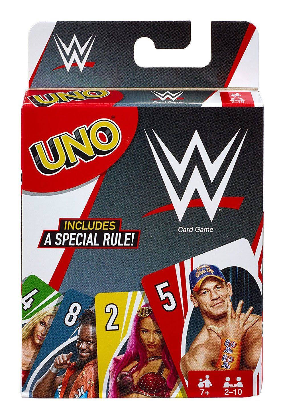 Uno Wwe Superstars Card Game
