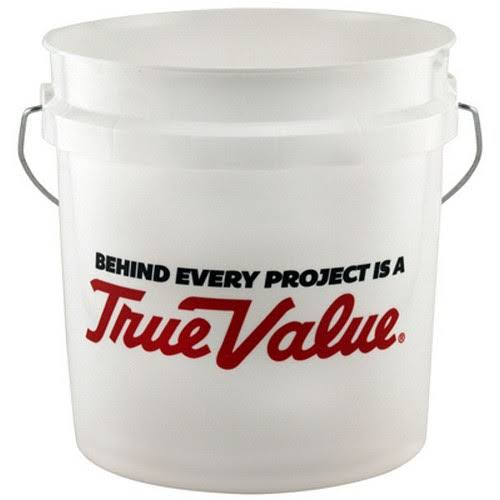 Leaktite 2GLSKD-TV 2-Gallon White Plastic Pail