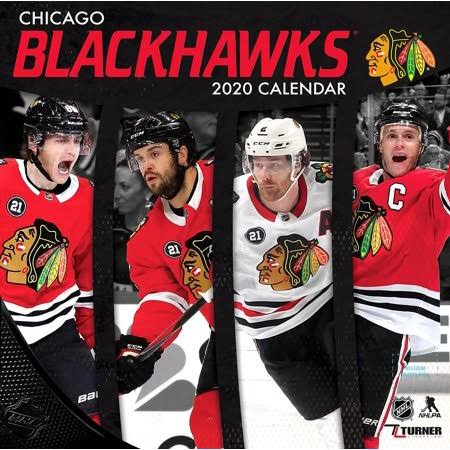 2020 Chicago Blackhawks Team Wall Calendar - The Lang Companies
