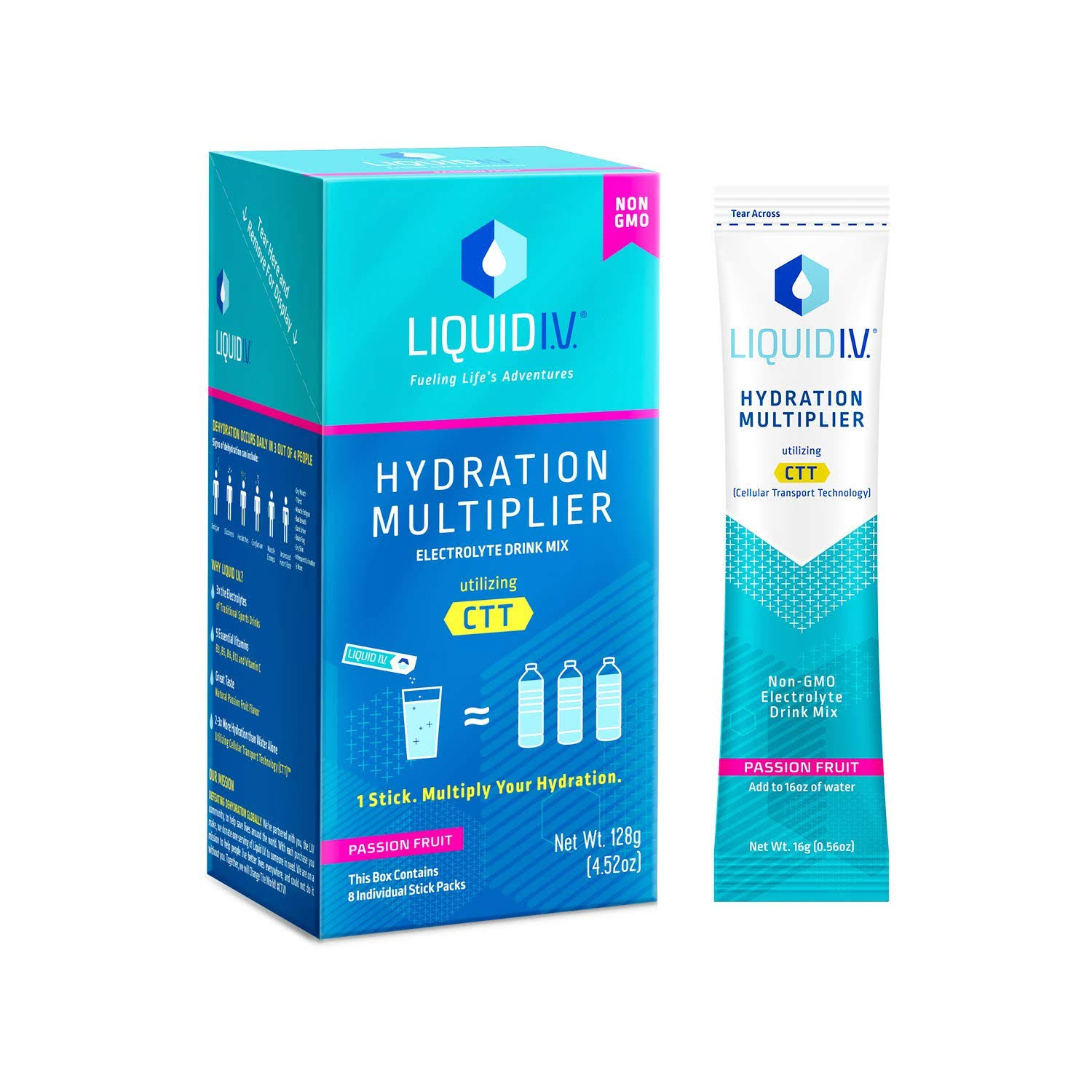 Liquid I.V Hydration Multiplier - Passion Fruit