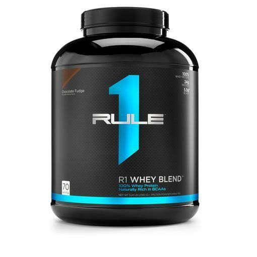 R1 Whey Blend, Rule 1 Proteins (Strawberries & Creme, 70 Servings)