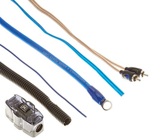 Soundstream - Wk-40x - 4G Installation Kit w/100A Manl Fuse