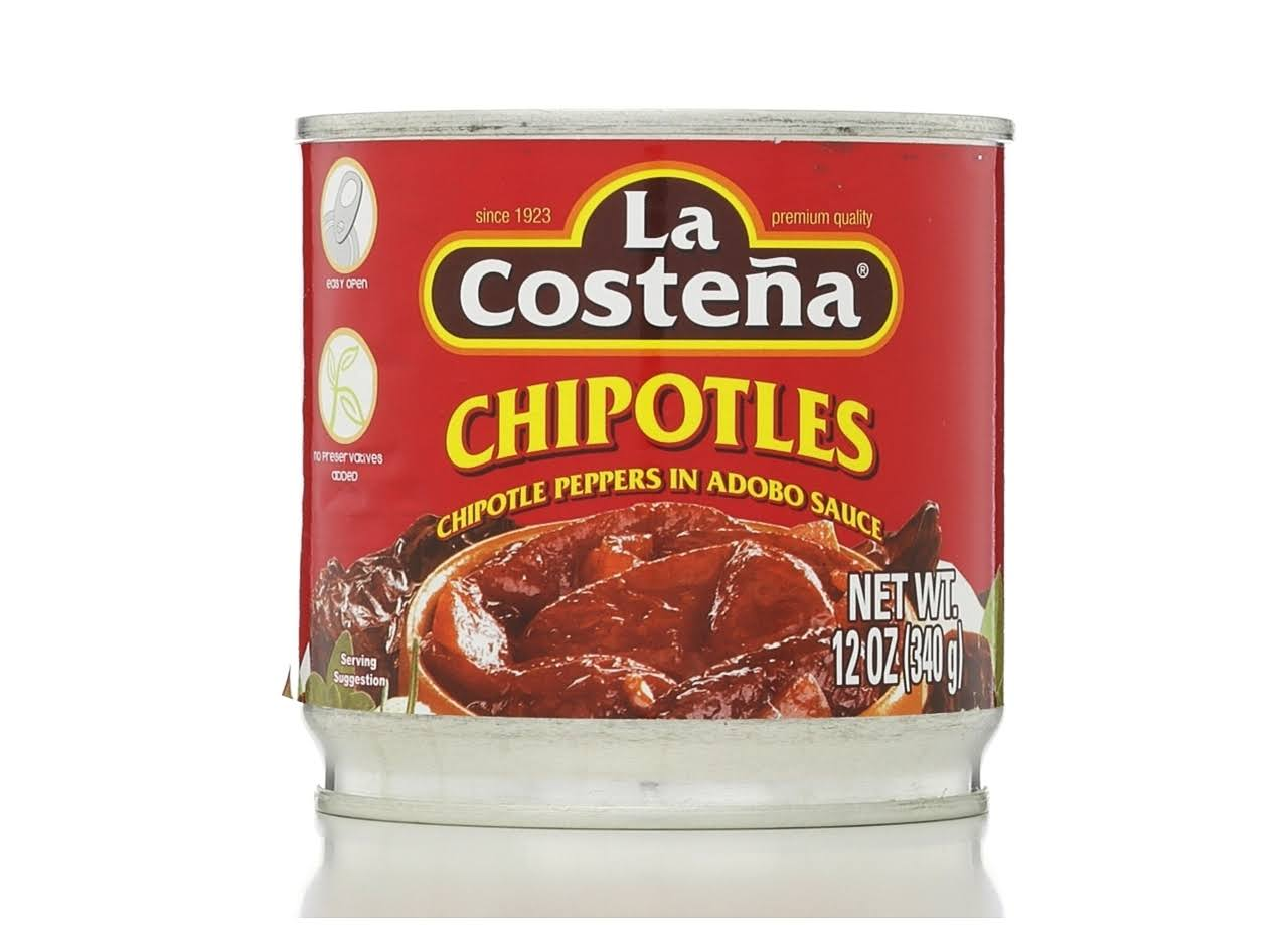 La Costena Chipotle Peppers - in Adobo Sauce, 340g