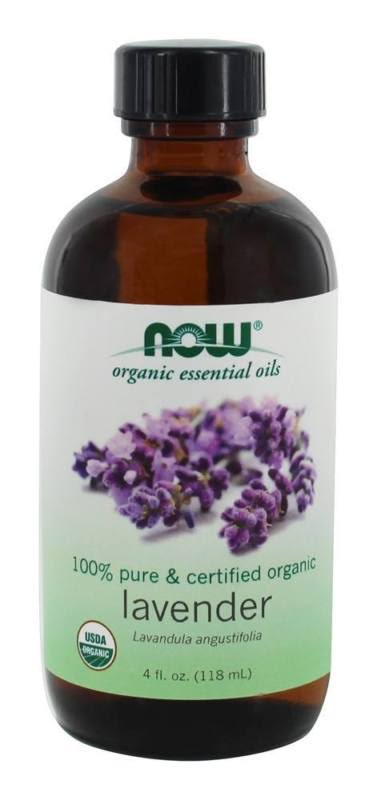 Organic Lavender Oil - 4 oz. Now Foods 4 fl oz