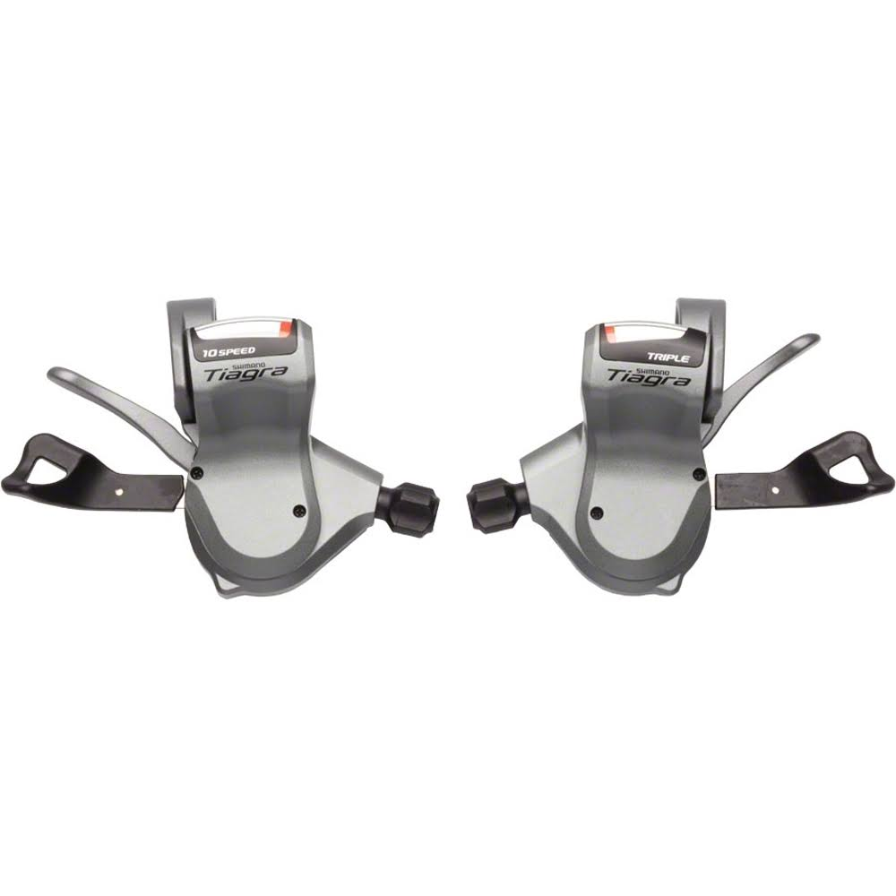 Shimano Tiagra SL-4603 10-Speed Triple Flat Bar Road Shifter Set