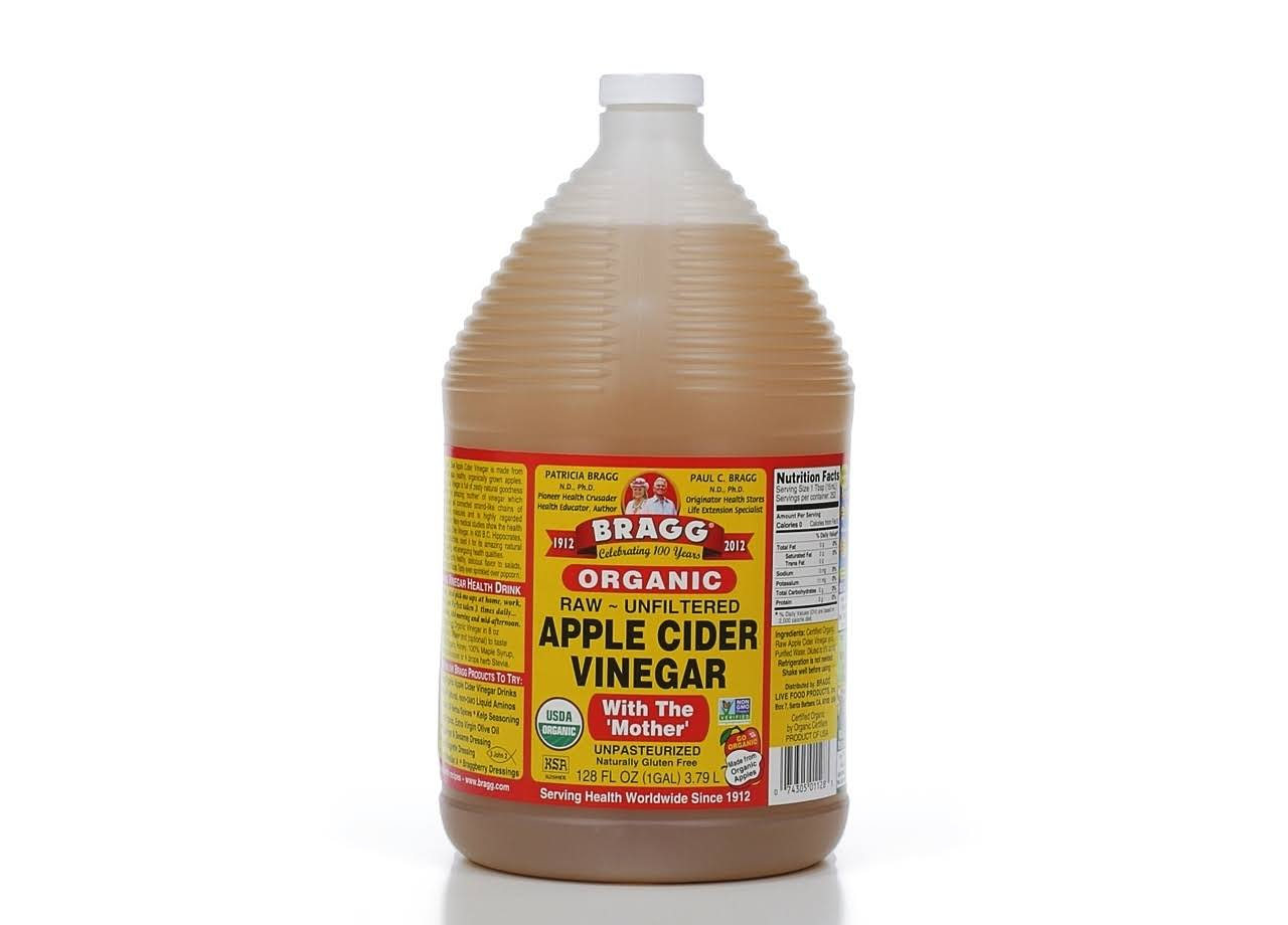 Bragg Organic Raw Apple Cider Vinegar - 128oz