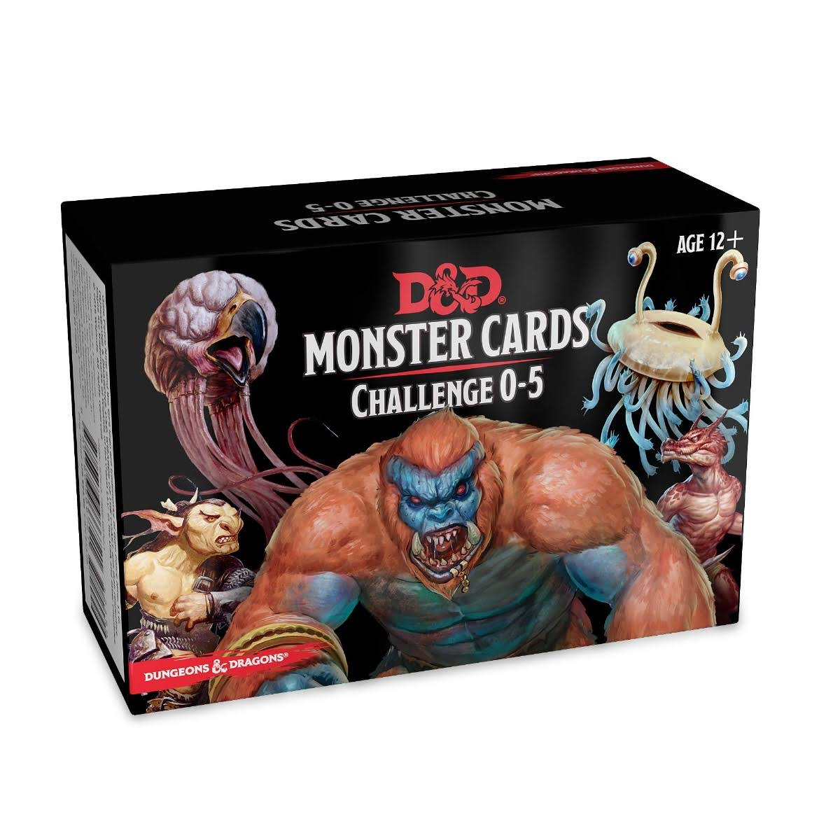 Dungeons and Dragons: Monster Cards: Challenge 0-5 - Wizards RPG Team