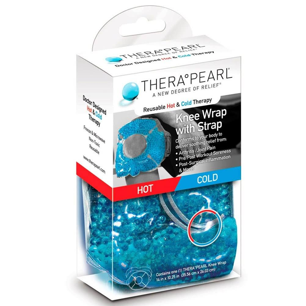 TheraPearl Hot Cold Reusable Knee Wrap