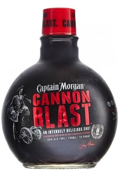 Captain Morgan Rum Cannon Blast - 750 ml bottle